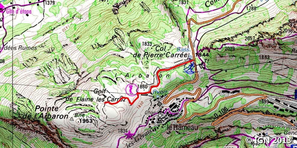 Col de Pierre Carre RandosMontBlanc