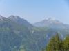 À droite le Mont Joly (8 juin 2014)