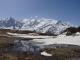 Étangs face au Mont Blanc (8 juin 2014)