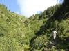 Franchissement du torrent de Lapaz (4 septembre 2005)