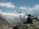 Face au Glacier du Tour (27 juillet 2004)