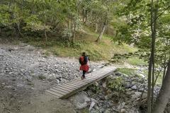 Petit pont à la descente (21 septembre 2019)