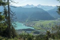 Lac de Brienz et Interlaken (15 septembre 2019)