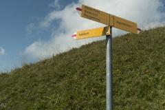 À la descente, tourner à droite vers Habkern (15 septembre 2019)