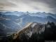 Mont César avec le Mont Ouzon et Mont Billiat en arrière-plan (25 octobre 2015)