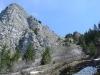 Sentier en vue de l'échelle (1er mai 2006)