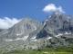 Vue sur les aiguilles de Chamonix