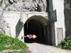 Le tunnel au parking de la Gueulaz