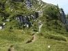 Sentier avant les lapiaz (11 septembre 2004)