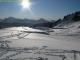 Le lac gelé de Joux Plane (Avril 2009)