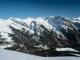 Vue sur la Tête de Bostan, la Pointe de la Golette, les Dents d'Oddaz, la Montagne du Criou et le Buet (26 mars 2016)