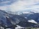 Vue sur le Buet et le Massif du Mont-Blanc (Février 2010)