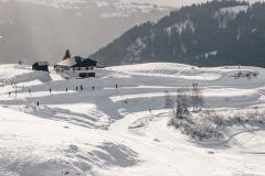 Joux Plane et ses pistes de ski de fond (2 janvier 2019)