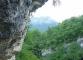 Les falaises mènent aux cascades