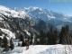 Difficile de quitter ce magnifique balcon face au Mont Blanc (Mars 2009)