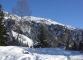 Sentier enneigé encore assez plat (Mars 2008)