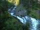 Torrent de Sales aboutissant à la cascade de la Sauffraz