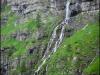 Cascade sur le Rocher des Fiz