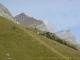 Pointe d'Anterne (à droite) et pointe de Platé (7 octobre 2004)