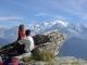 Vue sur le Massif du Mont-Blanc (7 octobre 2004)
