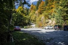 Départ au parking du Coudray (28 septembre 2017)