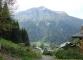 Sentier face au mont Joly