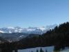 Massif du Mont-Blanc dégagé (25 décembre 2011)