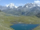 Grand Combin, Mont Vélan, Grand Lé et Petit Lé depuis le Chemin Supérieur