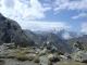 Col des Chevaux avec en toile de fond les Aiguilles de Leschaux, de Talèfre, du Triolet et Mont Dolent
