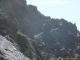 Dernière partie de la montée au Col du Bastillon