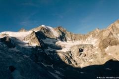 Glacier de Moiry, Pointes de Mourti et Tsa de l'Ano (29 juillet 2018)
