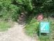Départ du sentier (5 juin 2006)