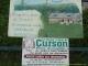 Panneau indicateur pour aller au gîte de Curson (5 juin 2006)