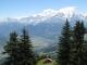 Mont Blanc en arrière plan (juillet 2011)