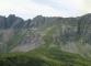 Panorama sur les Aravis (juillet 2011)