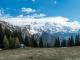 Vue sur le Massif du Mont-Blanc (17 avril 2017)