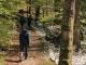 Le sentier progresse tranquillement dans la forêt (5 mai 2019)