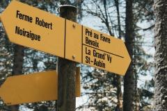 Suivre la direction du Pré-au-Favre (5 mai 2019)
