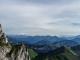 Vue sur le Mont Blanc au fond (3 septembre 2016). Merci à Yannig Le Louerec pour la photo !