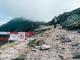 Pour rejoindre le Märjelenseen, il faut passer par le Hohbalm, car le sentier du bas est fermé (26 aout 2018)