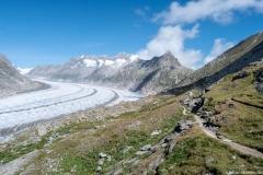 Glacier d'Aletsch (26 aout 2018)
