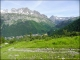 Aiguilles Rouges, Pointe de la Terrasse, Aiguille de Loriaz et Perrons à droite au loin