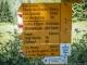 Panneau au Col de la Forclaz (2 juillet 2015)