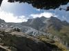 Glacier du Trient depuis le sentier de la Lys (24 août 2013)