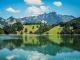 Lac de Montsalvens et Dents Vertes en arrière plan