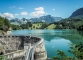 Lac et barrage de Montsalvens