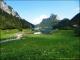 Vue sur le lac et le Tâche (24 juin 2012)