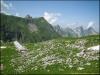 Chalet du Pêcheux devant le Mont Valeur (24 juin 2012)