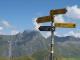 Panneau au Grand Col