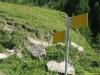Départ de l'itinéraire au parking de l'Arnuva